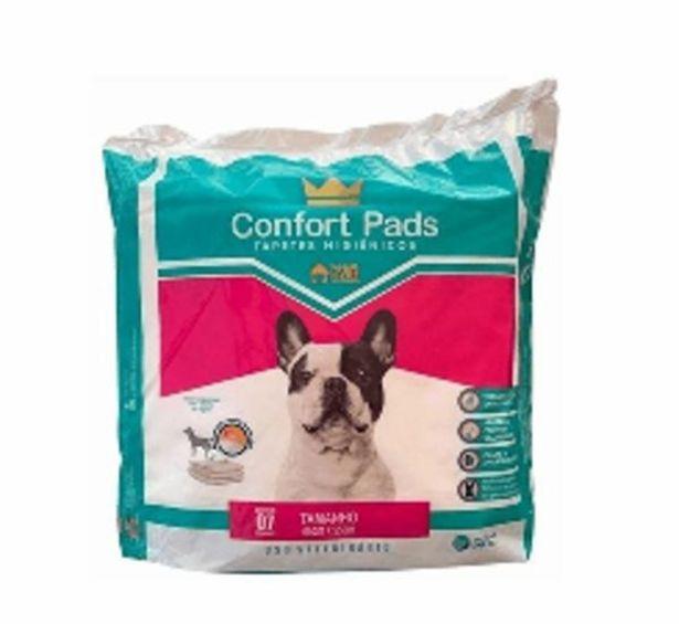 Oferta de Tapete higiênico Confort pads c/7 unidades por R$24,99