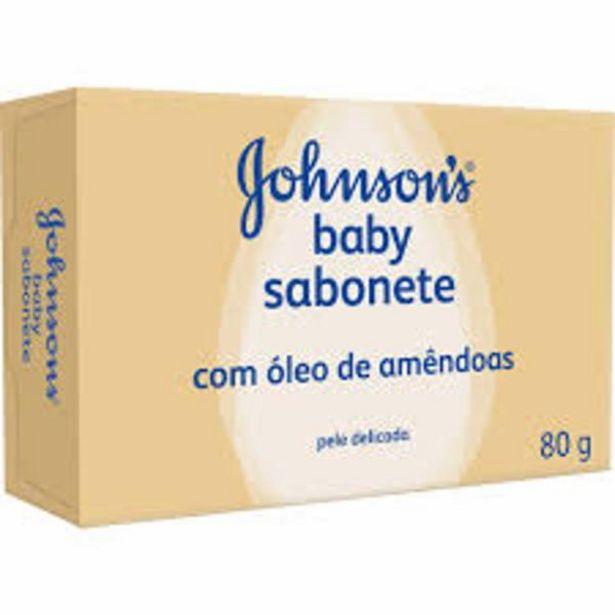 Oferta de Sabonete Johnsons amendoas 80g por R$3,99