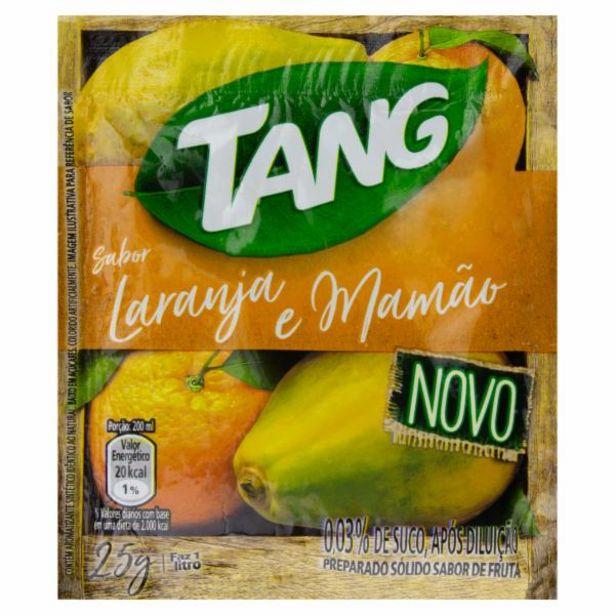 Oferta de Refresco Tang laranja/mamão 25g por R$0,78