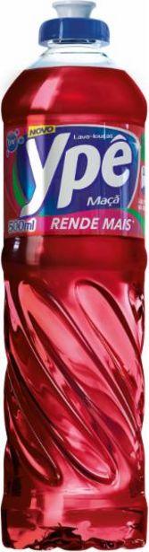 Oferta de Detergente líquido Ypê maçã 500mL por R$2,19