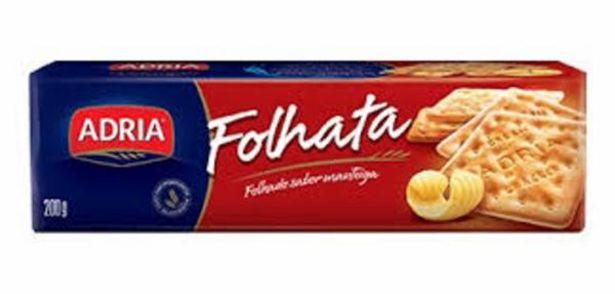 Oferta de Biscoito Adria Folhata 200g por R$2,48