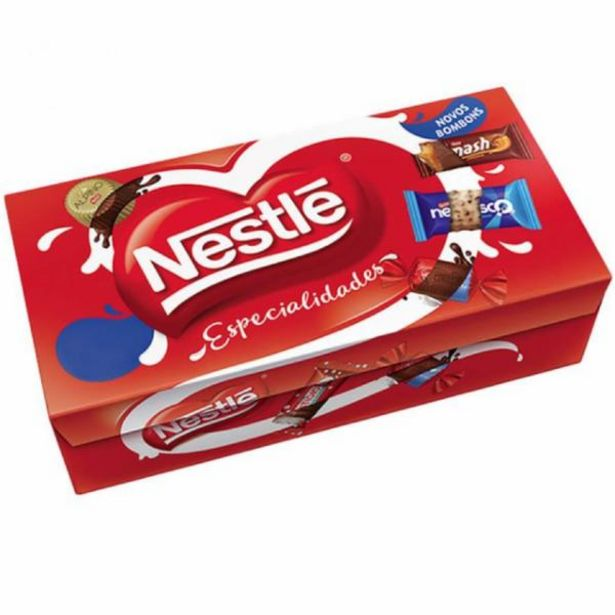 Oferta de Bombom Nestlé Especialidades 251g por R$8,98