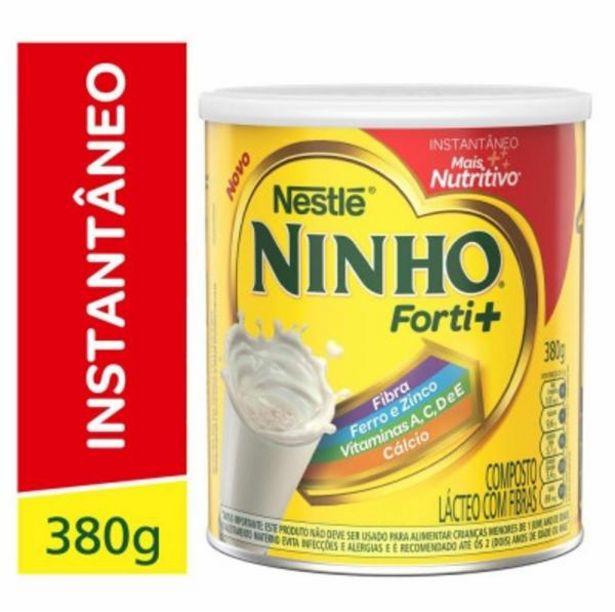 Oferta de Leite em po Ninho fibras 380g por R$10,98