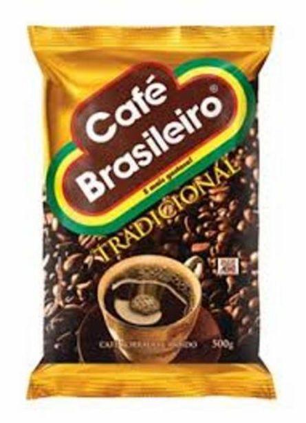 Oferta de Café Brasileiro tradicional  500g por R$13,99