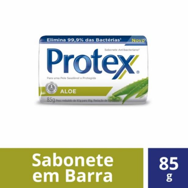 Oferta de Sabonete Protex aloe 85g por R$2,99
