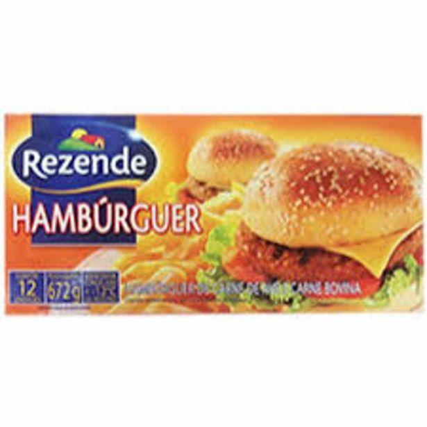 Oferta de Hambúrguer misto Rezende 672g por R$16,99