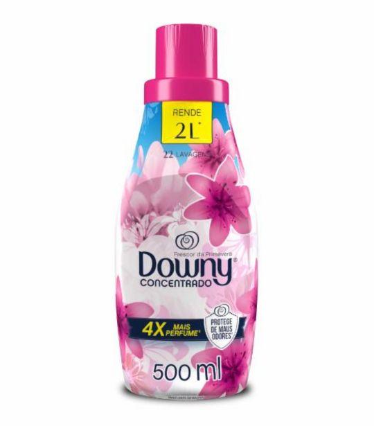 Oferta de Amaciante concentrado Downy frescor da primavera 500mL por R$11,99
