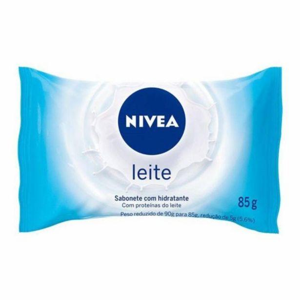 Oferta de Sabonete Nivea proteinas do leite 85g por R$2,29