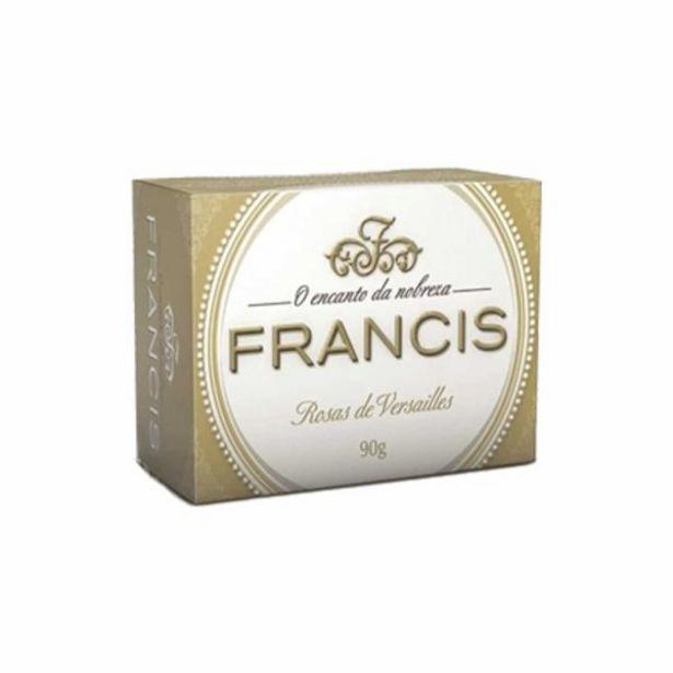 Oferta de Sabonete Francis clássico branco 90g por R$2,99