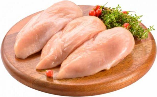 Oferta de File de peito de frango congelado Kg por R$16,99