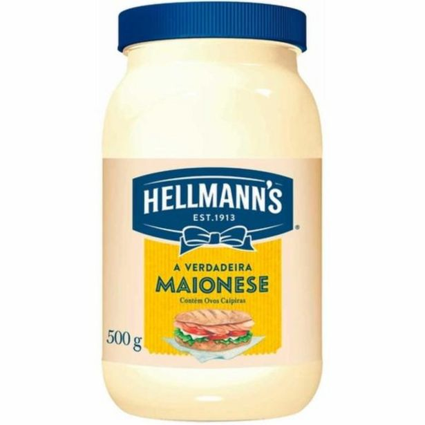 Oferta de Maionese Hellmanns 500g por R$5,78