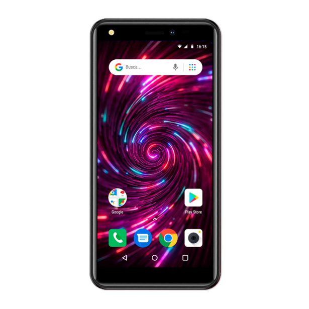 Oferta de Smartphone Positivo Twist 4 S514 64GB, 1GB RAM, Android 10 Go Edition   Preto por R$629,9