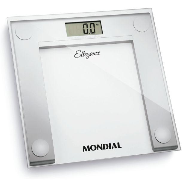 Oferta de Balança Digital Mondial Ellegance BL-03   Prata por R$79,9