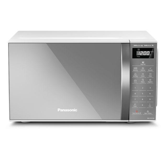 Oferta de Forno Micro-ondas Panasonic ST27L 21L, Branco   220V por R$532