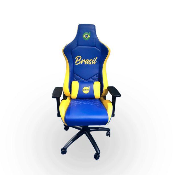 Oferta de Cadeira Gamer Dazz Nations Series Brasil | Brasil por R$2029