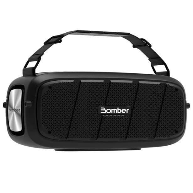 Oferta de Caixa de Som Bomber Bomberbox I, Potência 55W RMS, Com Bluetooth   Preto por R$869