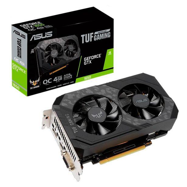 Oferta de Placa de Vídeo Asus Geforce GTX 1650 TUF Phoenix GDDR5 128 Bits   4GB por R$2499