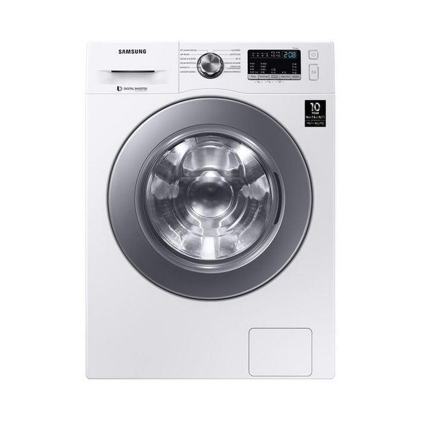 Oferta de Lava e Seca Samsung WD4000 com Air Wash, 11kg - WD11M44733WFAZ   Branca por R$3499