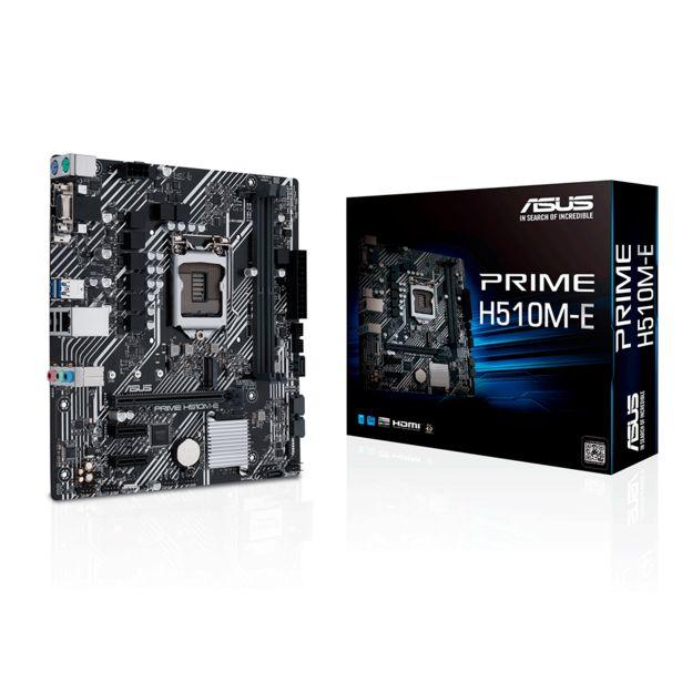 Oferta de Placa Mãe Asus Prime H510M-E por R$729