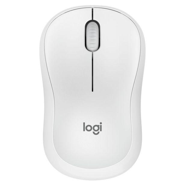 Oferta de Mouse Sem fio Logitech M220 Silent | Branco por R$72