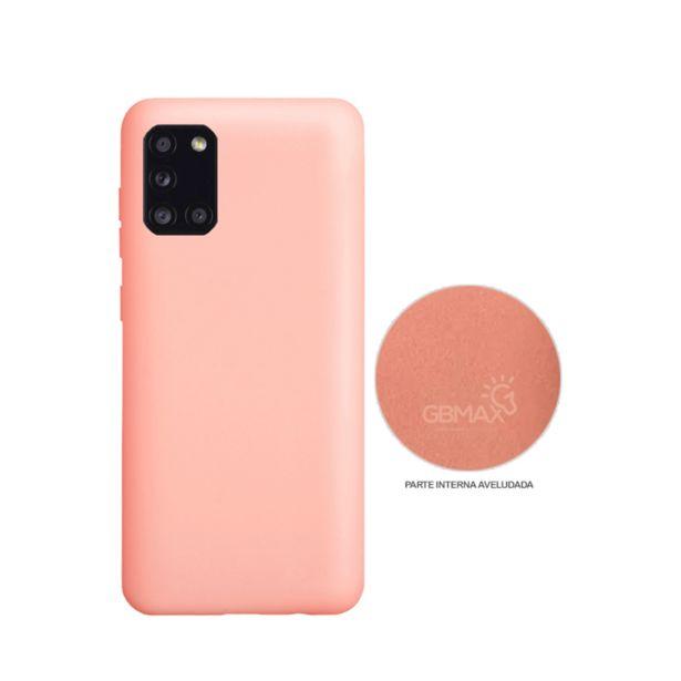Oferta de Capa Protetora Gbmax para Celulares Samsung A31 de Silicone | Rosa por R$29,9