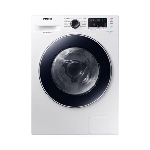 Oferta de Lava e Seca Samsung WD4000 com Ecobubble, 11kg - WD11M4453J   Branca por R$3499