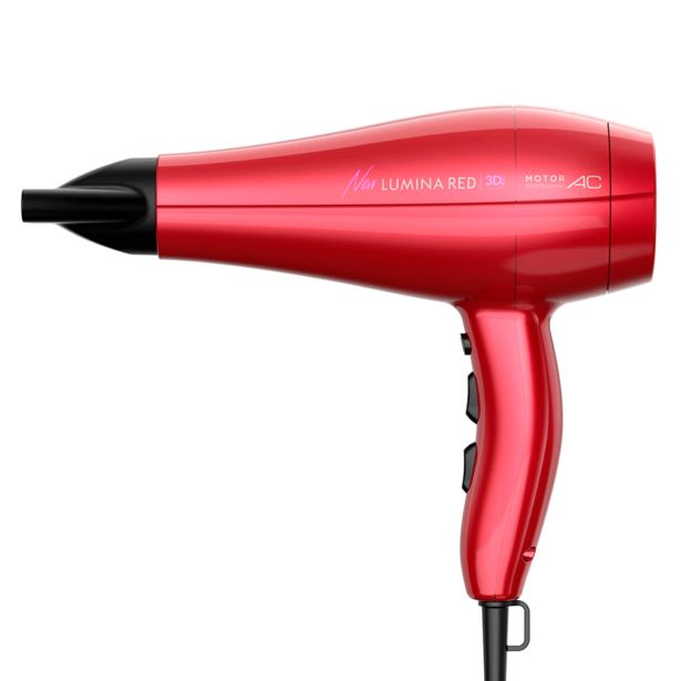 Oferta de Secador Gama New lumina 3D | Red por R$199,9
