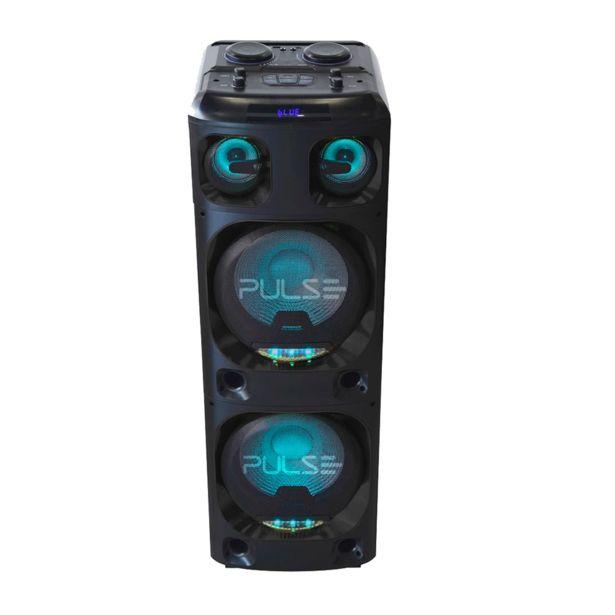 Oferta de Caixa de Som Pulse SP1000, Potência de 4000W, Luzes de LED   Preto por R$2319