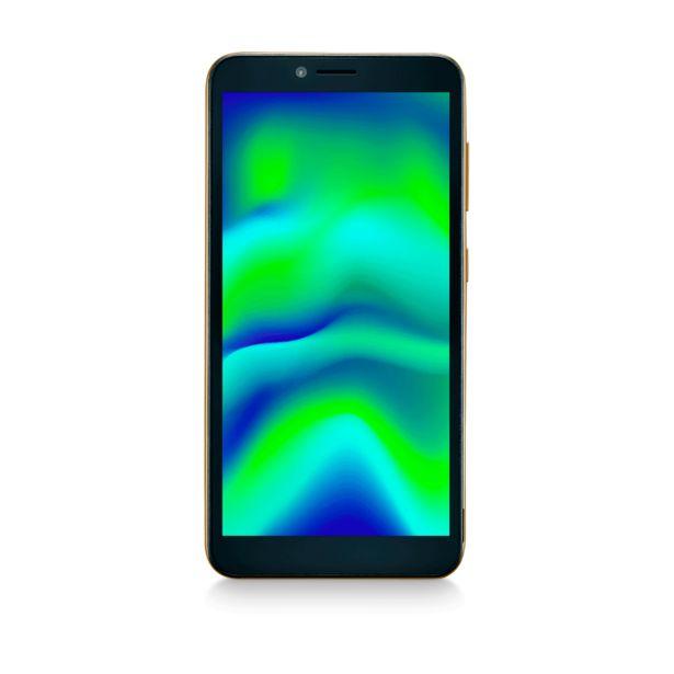 """Oferta de Smartphone Multilaser F Pro 2 32 GB, 1GB RAM, 4G Tela LDC 5.5"""" Câmera Traseira 8 MP, 5MP Câmera Frontal Processador Quad Core   Dourado por R$529"""