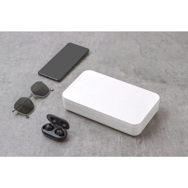 Oferta de Esterilizador Samsung UV e Carregador Sem Fio Qi   Bege por R$176,9