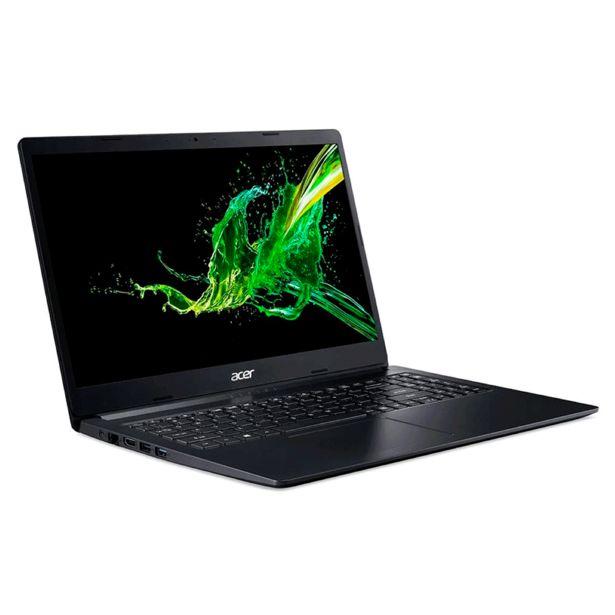 "Oferta de Notebook Acer Aspire 5, Intel Core i5-10210U, 8GB, 256GB SSD, 15.6"" A515-54-55L0 Preto | Windows 10 por R$4369"