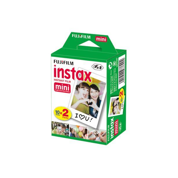 Oferta de Filme Instax Mini | 20 fotos por R$69,9