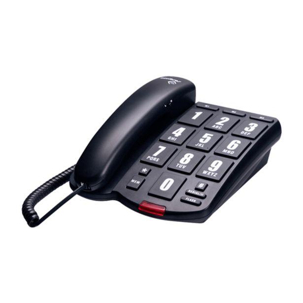 Oferta de Telefone Intelbras Tok Fácil | Preto por R$98