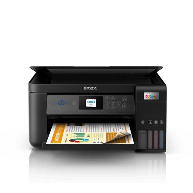 Oferta de Impressora Epson Multifuncional Ecotank L4260, Wireless, Wi-Fi Direct | Preto por R$1899
