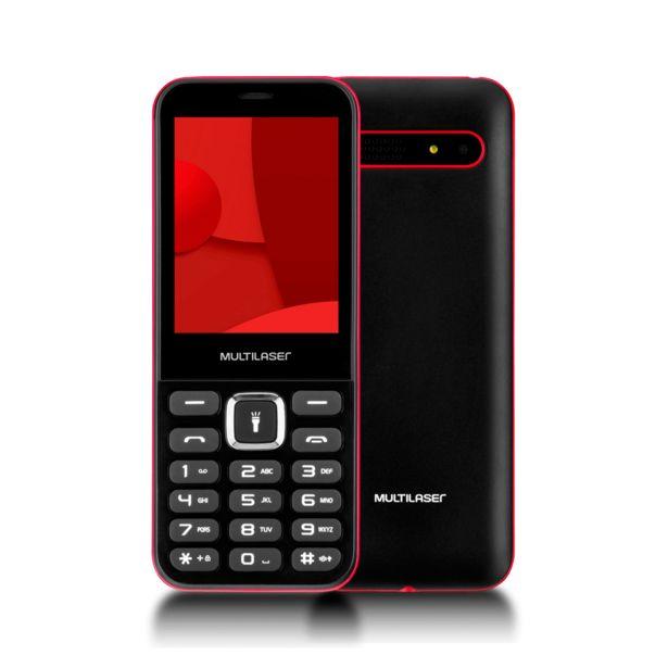 Oferta de Celular UP Max Multilaser - P9135   Preto por R$149,9
