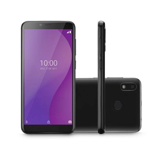 Oferta de Smartphone Multilaser G 4G, Memória 32GB, 1GB Ram, Tela 5.5 Polegadas, Octa Core, Android 9 Pie   Preto por R$548,9