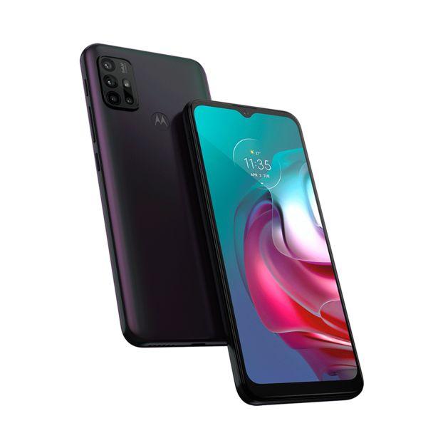 Oferta de Smartphone Motorola Moto G30 XT2129-1, 128GB, 4 RAM, Android 11, Processador 2.0 Ghz Octa-Core, Camêra Traseira 64MP+8MP+2MP+2MP   Dark Prism por R$1619