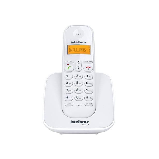 Oferta de Telefone Sem Fio Intelbras TS3110 | Branco por R$102,9