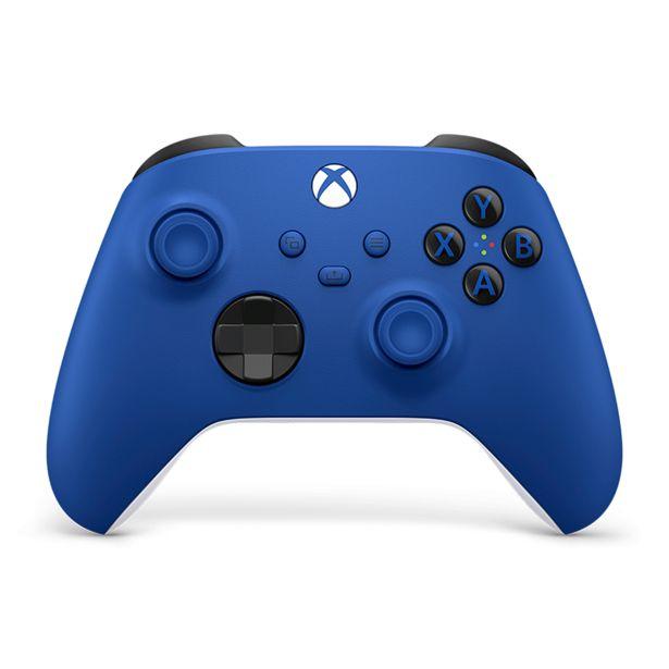 Oferta de Controle Sem Fio Microsoft Xbox Shock Blue | Azul por R$519
