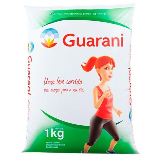 Oferta de Açúcar Refinado Guarani 1Kg por R$2,99