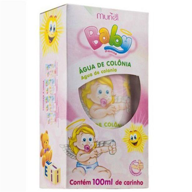 Oferta de Água de Colônia Muriel Baby Menina Embalagem 100Ml por R$8,29