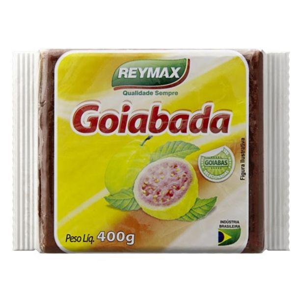 Oferta de Goiabada Reymax Barra 400G por R$4,99