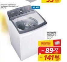 Oferta de LAVADORA BRASTEMP 12 KG BWK12 BRANCA 220 V por R$89,77