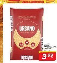 Oferta de ARROZ PARBOILIZADO URBANO 1KG por R$3,99