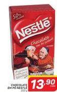 Oferta de Chocolate Em Pó Nestlé por R$13,9
