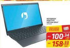 Oferta de Notebook Positivo Motion Gray por R$100,34