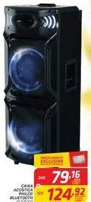 Oferta de Caixa Acústica Philco Bluetooth  por R$79,16