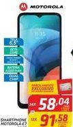 Oferta de SMARTPHONE MOTOROLA E7 por R$58,04