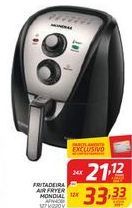 Oferta de Fritadeira Air Fryer Mondial por R$21,12
