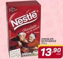 Oferta de Chocolate em pó Nestlé 200g por R$13,9